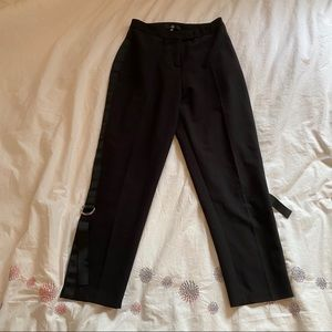 🌹4/16🌹High waisted black trousers